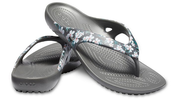 Crocs-Womens-Kadee-II-Seasonal-Graphic-Flip thumbnail 9