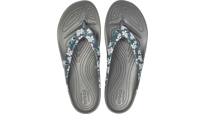 Crocs-Womens-Kadee-II-Seasonal-Graphic-Flip thumbnail 10