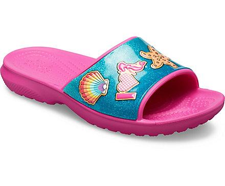 98cde329371184 Kids  Crocs Fun Lab Beach Fun Slide - Crocs