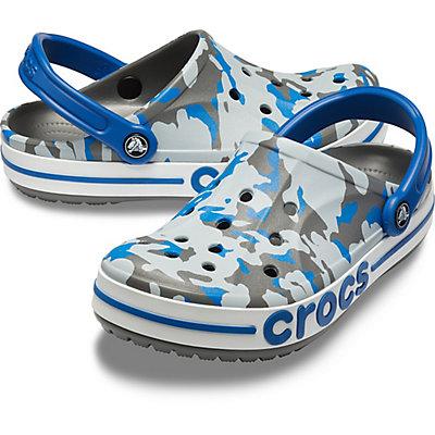 Image of Crocs Bayaband Graphic II Clog Slate Grey/Blue Jean 205667-0DB