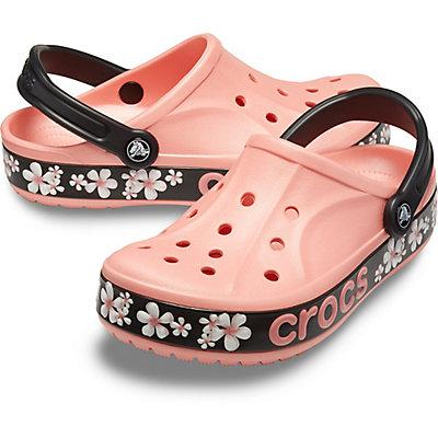 Image of Crocs Bayaband Graphic II Clog Melon/Floral 205667-7HB