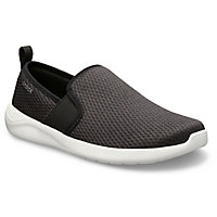 Deals on Crocs Mens LiteRide Mesh Slip-On