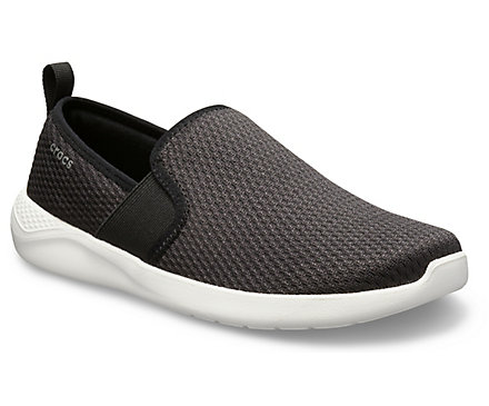 5bac3885f59bcb Men s LiteRide™ Mesh Slip-On - Crocs
