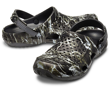 6bd6c4a2cb34 Men s Swiftwater™ Mossy Oak® Elements™ Deck Clog - Crocs