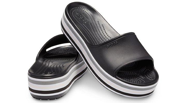 Crocs-Unisex-Crocband-Platform-Bold-Color-Slide thumbnail 9