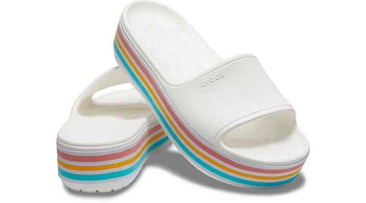 Crocs-Unisex-Crocband-Platform-Bold-Color-Slide thumbnail 15