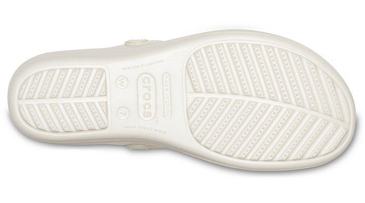 Crocs-Womens-Sanrah-Liquid-Metallic-Wedge-Flip thumbnail 29
