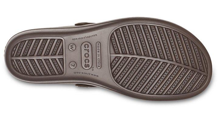 Crocs-Womens-Sanrah-Liquid-Metallic-Wedge-Flip thumbnail 17