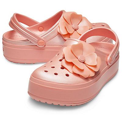1d9f8b79f5 Crocs Crocband Platform Vivid Blooms Clog Pink 205746-737