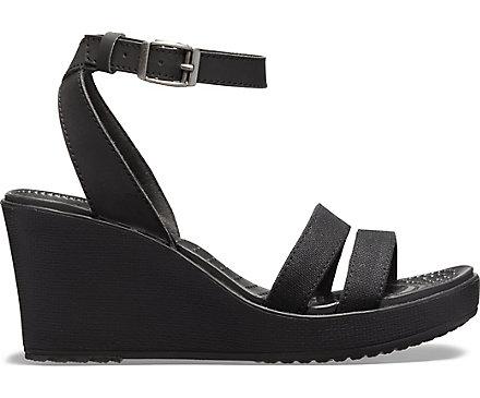 b7d8289e8e69 Women s Leigh Sandal Wedge - Crocs