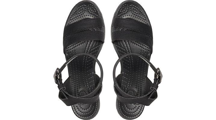 Crocs-Womens-Leigh-Sandal-Wedge thumbnail 16