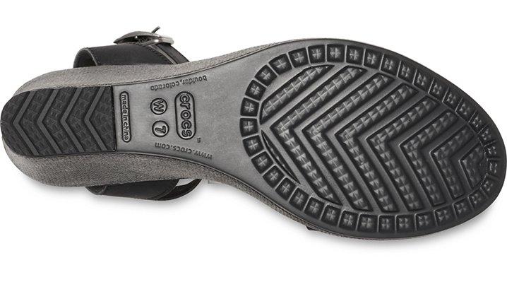 Crocs-Womens-Leigh-Sandal-Wedge thumbnail 17