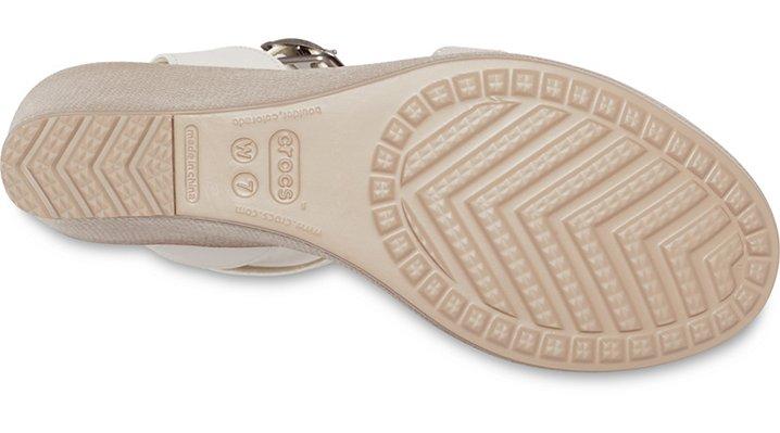 Crocs-Womens-Leigh-Sandal-Wedge thumbnail 11