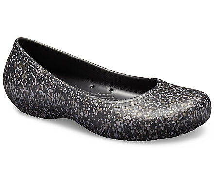 Women's Crocs At Work™ Graphic Flat