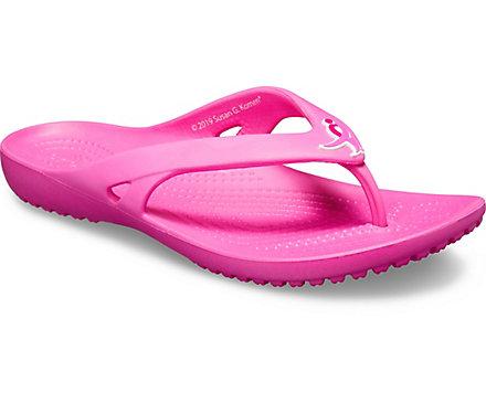 f4901c9d0aad8 Women's Kadee II Susan G. Komen Flip - Crocs