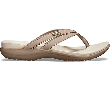 c3c533e80141 Women s Capri Basic Strappy Flip - Crocs