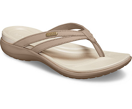 8d2594b040e5 Women s Capri Basic Strappy Flip - Crocs
