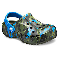 Deals on Crocs Kids Baya Printed Clog