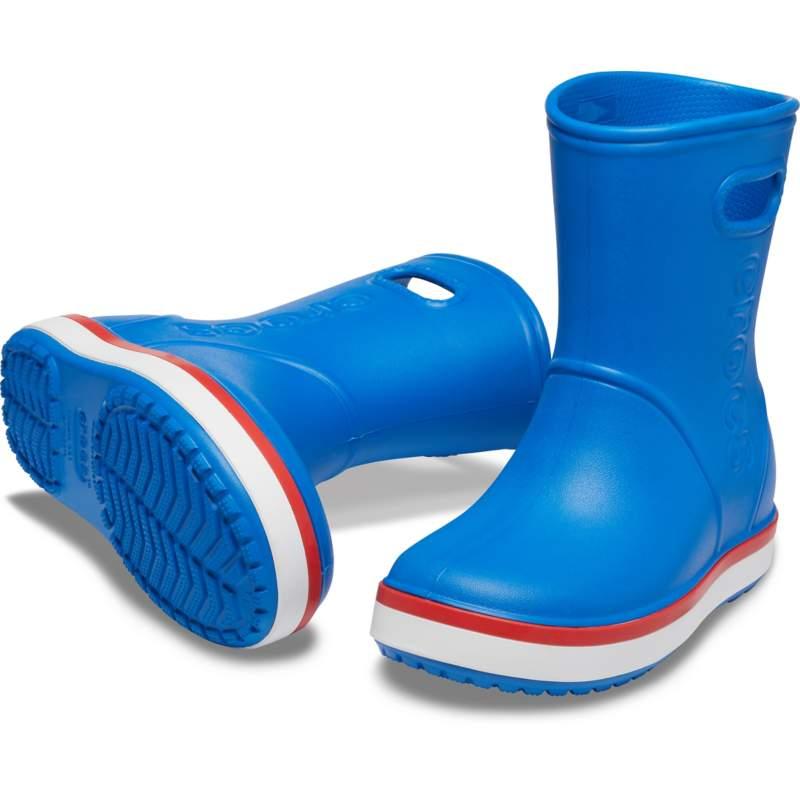 クロックス 公式オンラインショップ【クロックス公式】 クロックバンド レイン ブーツ キッズ Kids' Crocband Rain Boot ユニセックス、キッズ、子供用、男の子、女の子、男女兼用 ブルー/青 14cm,15cm,15.5cm,16.5cm,17.5cm,18cm,18.5cm,19cm,19.5cm,20cm,21cm boot ブーツ