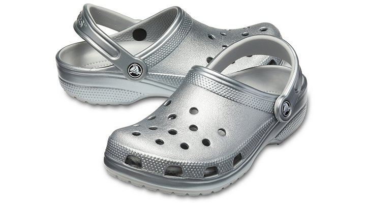 Crocs-Unisex-Classic-Metallic-Clog thumbnail 9