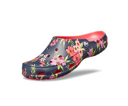 Women's Crocs Freesail Printed Clog