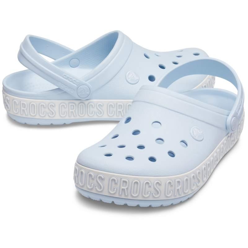 【クロックス公式】 クロックバンド ロゴ マニア クロッグ Crocband Logo Mania Clog ユニセックス、メンズ、レディース、男女兼用 ブルー/青 22cm,23cm,24cm,25cm,26cm clog クロッグ サンダル