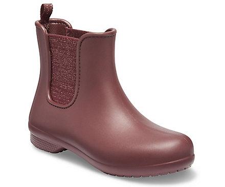Women's Crocs Freesail Metallic Chelsea Boot