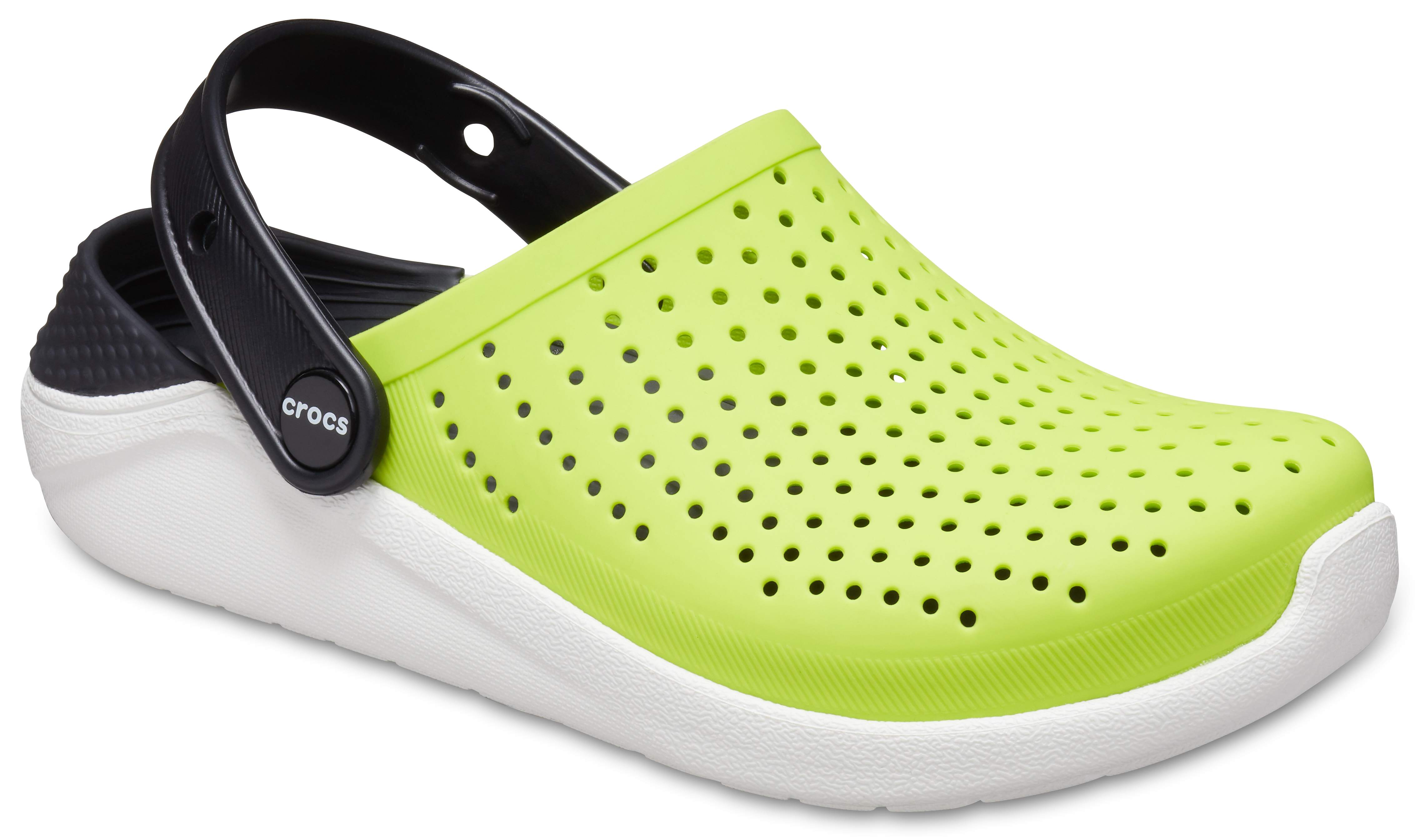 5 US Toddler Crocs Kids LiteRide Clog Neon Magenta Casual and Comfortable Athletic Kids Shoes