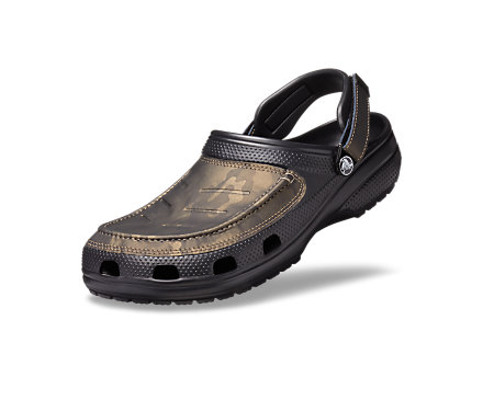 Men's Crocs Yukon Vista Leather Clogs
