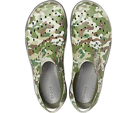 Men's Swiftwater™ Camo Wave Crocs