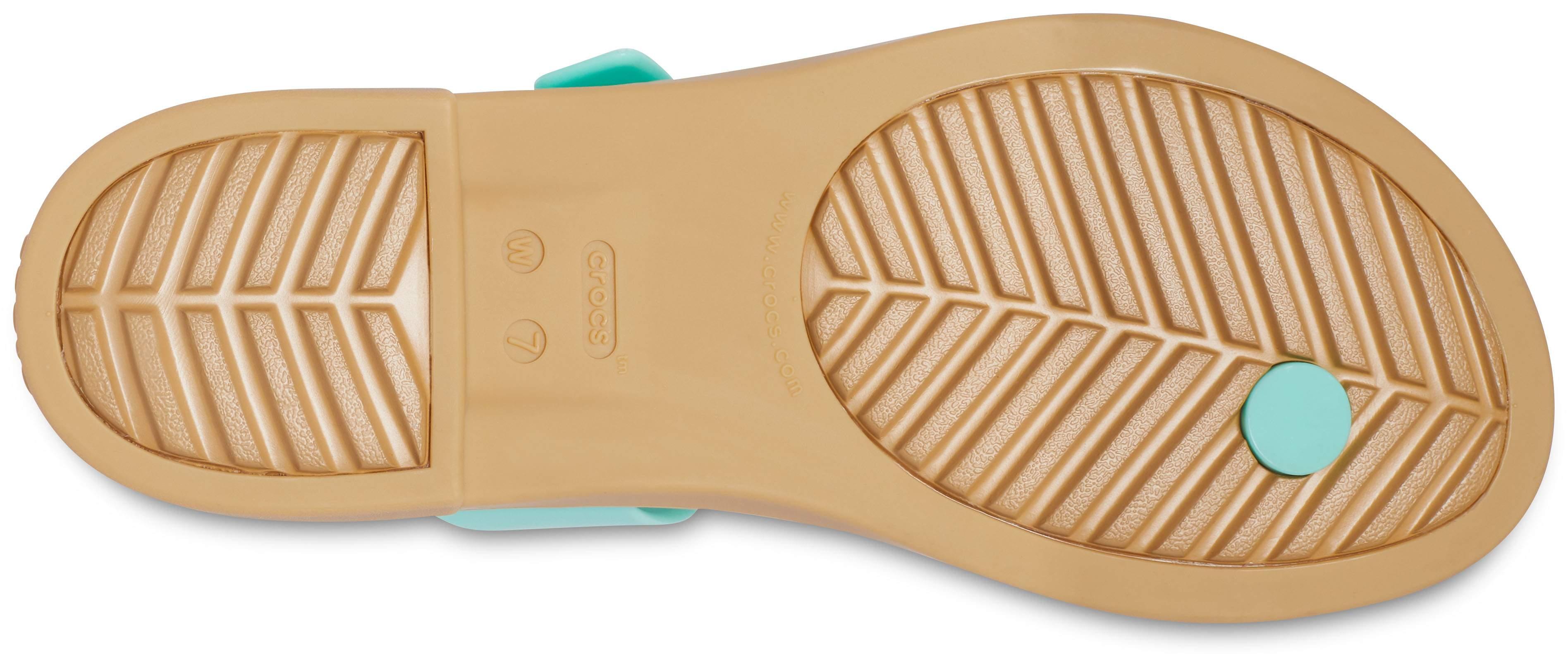 Chmlns Tns Weave Flp Details about  /Girls Crocs Toe Post Sandals