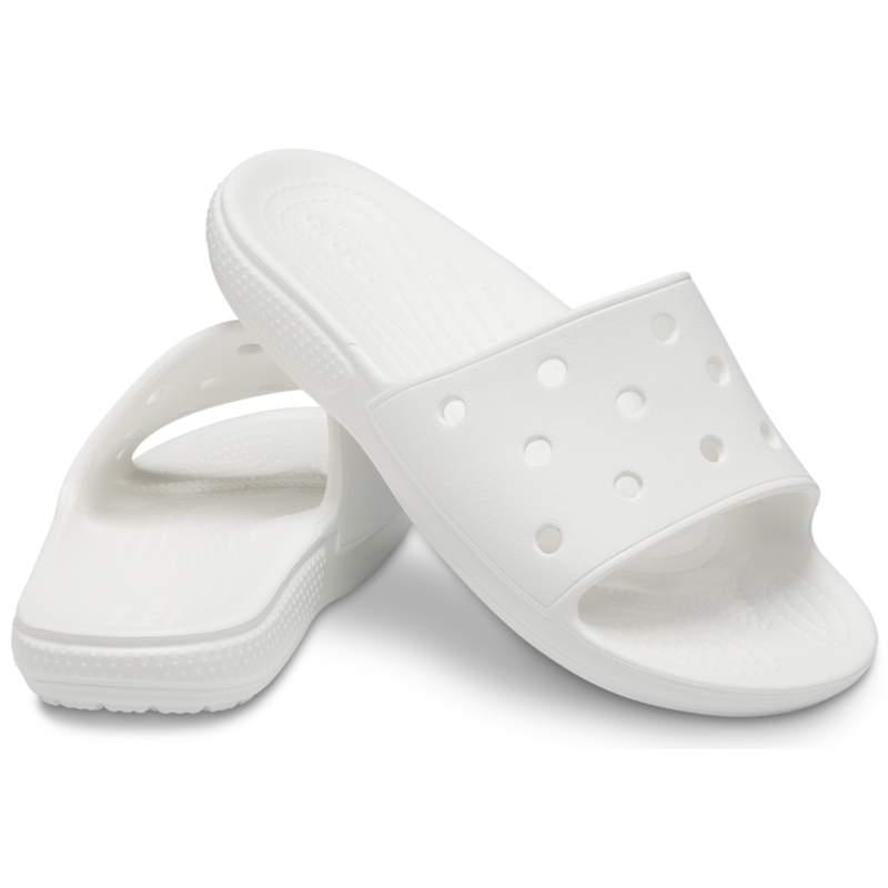【クロックス公式】 クラシック クロックス スライド Classic Crocs Slide ユニセックス、メンズ、レディース、男女兼用 ホワイト/白 22cm,23cm,24cm,25cm,26cm,27cm,28cm,29cm,30cm,31cm slide スライドサンダル スポーツサンダル シャワーサンダル サンダル