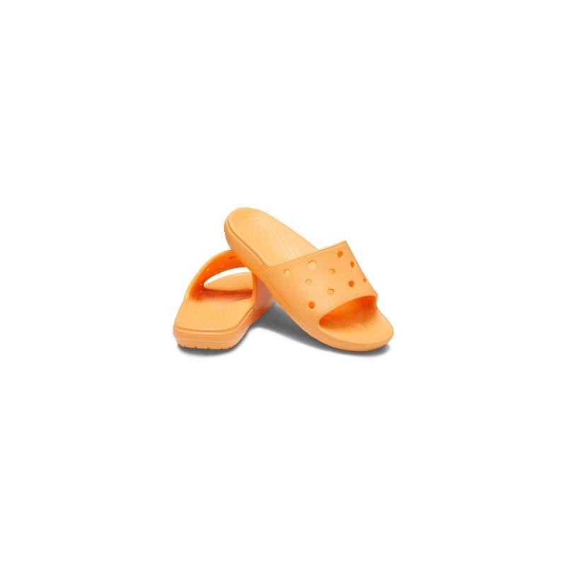 【クロックス公式】 クラシック クロックス スライド Classic Crocs Slide ユニセックス、メンズ、レディース、男女兼用 オレンジ/オレンジ 22cm,23cm,24cm,25cm,26cm,27cm slide スライドサンダル スポーツサンダル シャワーサンダル サンダル