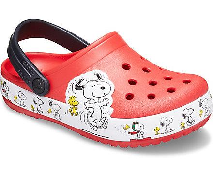 Kids' Crocs Fun Lab Snoopy® Woodstock® Clog