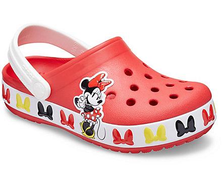 Kids' Crocs Fun Lab Disney Minnie Mouse Band Clog