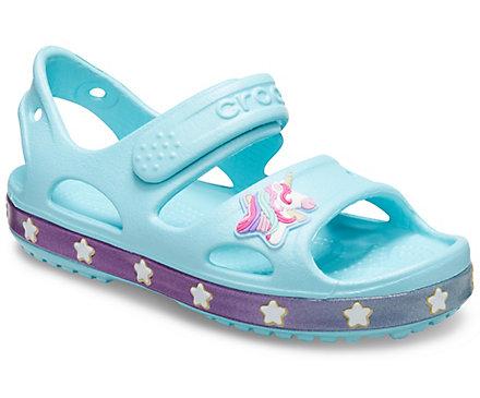 Girls' Crocs Fun Lab Unicorn Charm Sandal