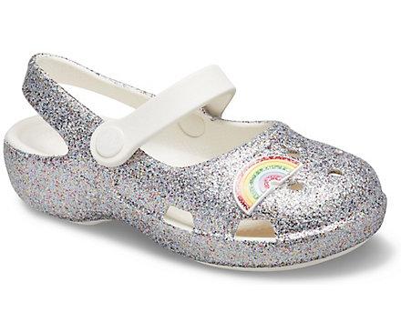 Kids' Classic Glitter Charm Mary Jane