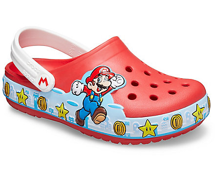 Kids' Crocs Fun Lab Super Mario™ Lights Clog