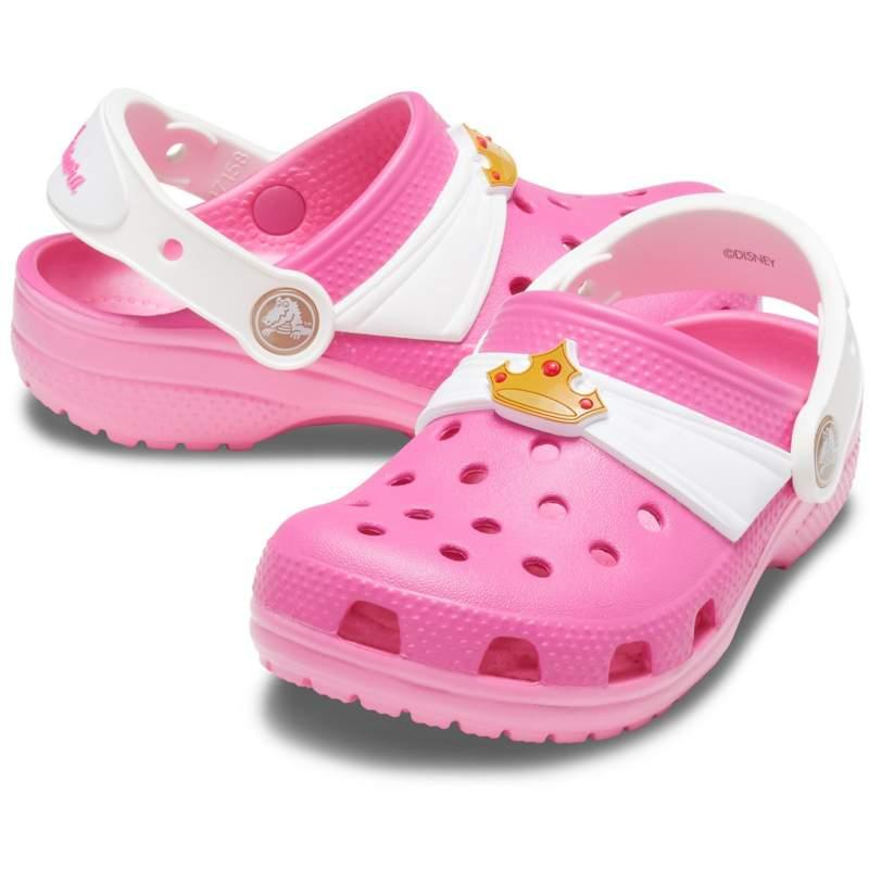 [クロックス公式] クロッグ クロックス ファン ラブ ディズニー オーロラ クロッグ キッズ ガールズ、キッズ、子供用、女の子 ピンク 21cm Kids' Crocs Fun Lab Disney 'I Am Aurora' Clog 20%OFF セ