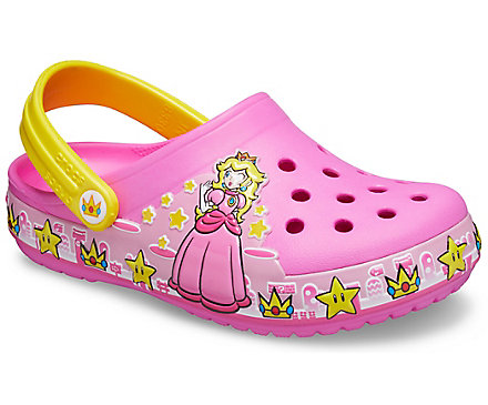 Kids' Crocs Fun Lab Princess Peach™ Lights Clog