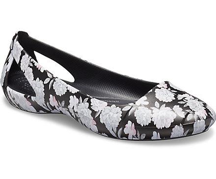 Crocs Sienna Womens Floral Flat