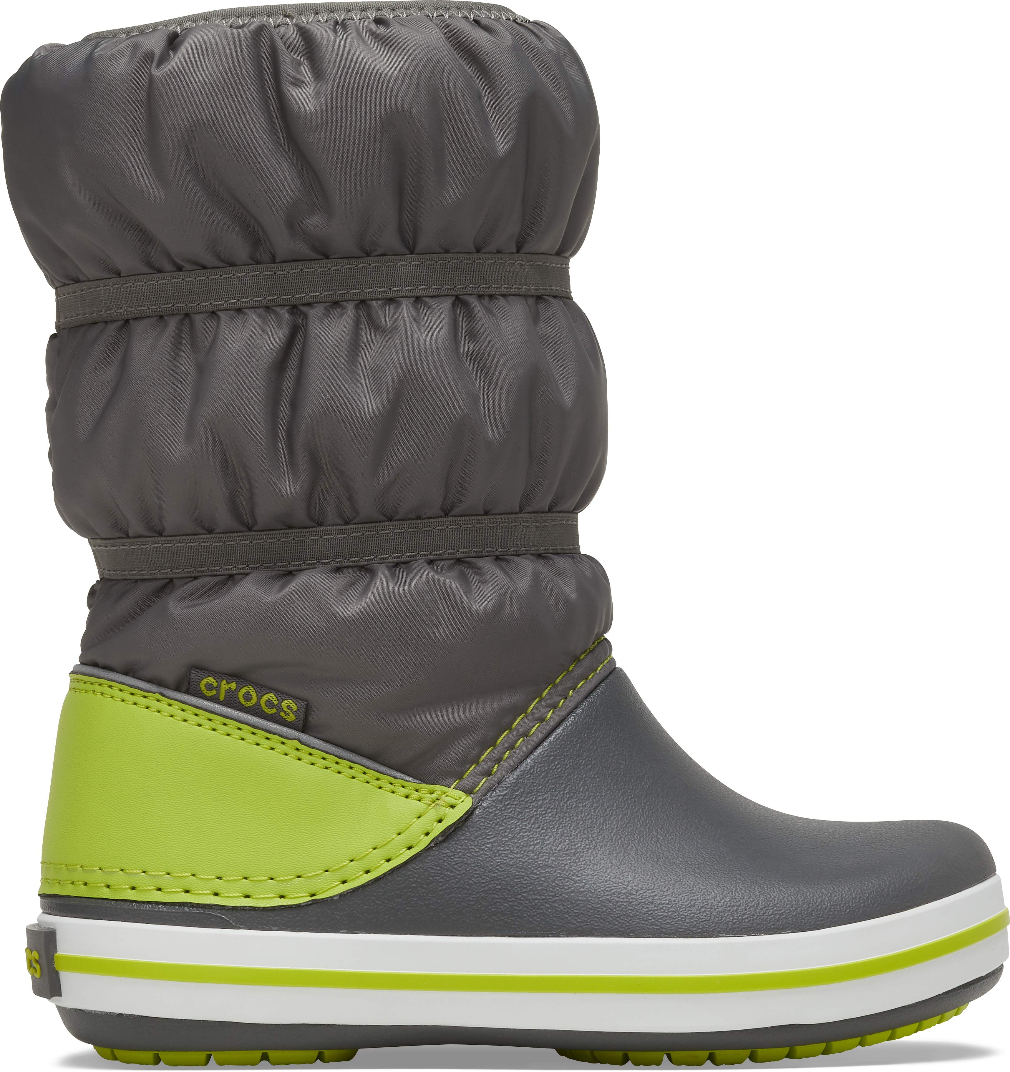 Army Green//Slate Grey Crocs Crocband Rain Boot Kids