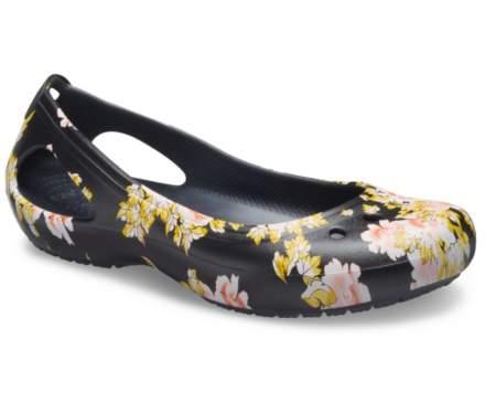 Crocs Women's Kadee Seasonal Printed Flat
