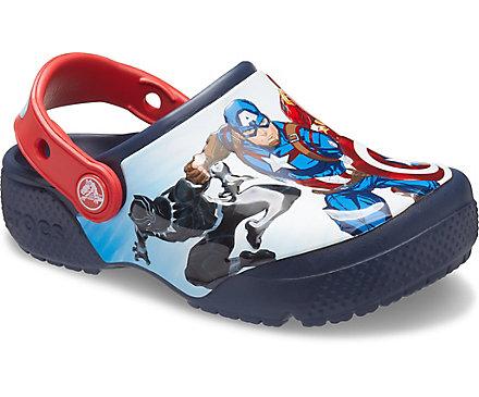 Kids' Crocs Fun Lab Avengers Patch Clog