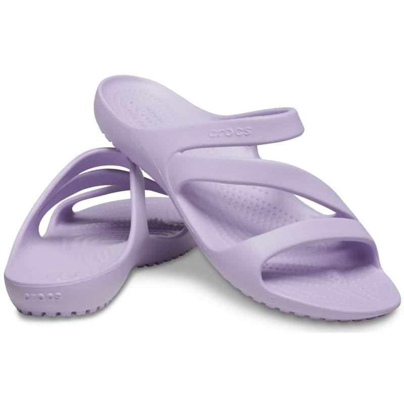 【クロックス公式】 カディ2.0 サンダル ウィメン Women's Kadee II Sandal ウィメンズ、レディース、女性用 パープル/紫 21cm,22cm,23cm,24cm,25cm sandal サンダル