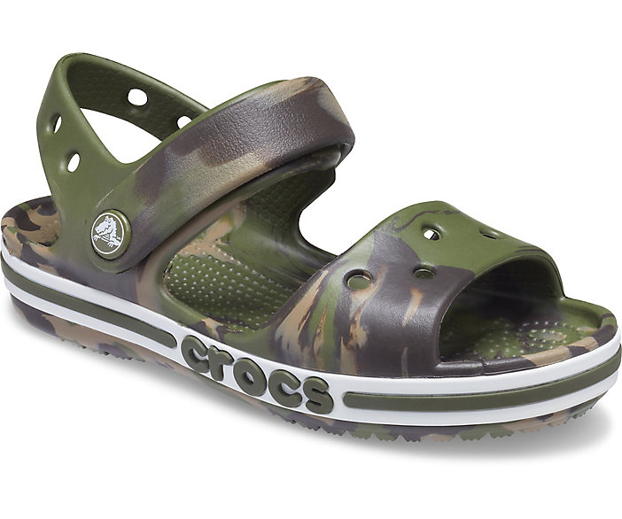 Crocs Kids' Bayaband Marbled Sandal