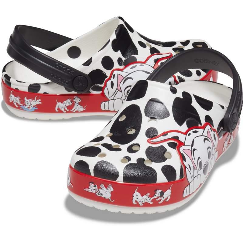 [クロックス公式] クロッグ クロックス ファン ラブ 『101匹わんちゃん』クロッグ キッズ キッズ、子供用、男の子、女の子 ホワイト/白 14cm Kids' Crocs Fun Lab - Disney