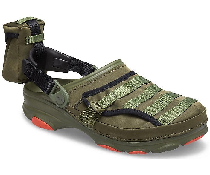 BEAMS X Crocs Classic All-Terrain Military Clog