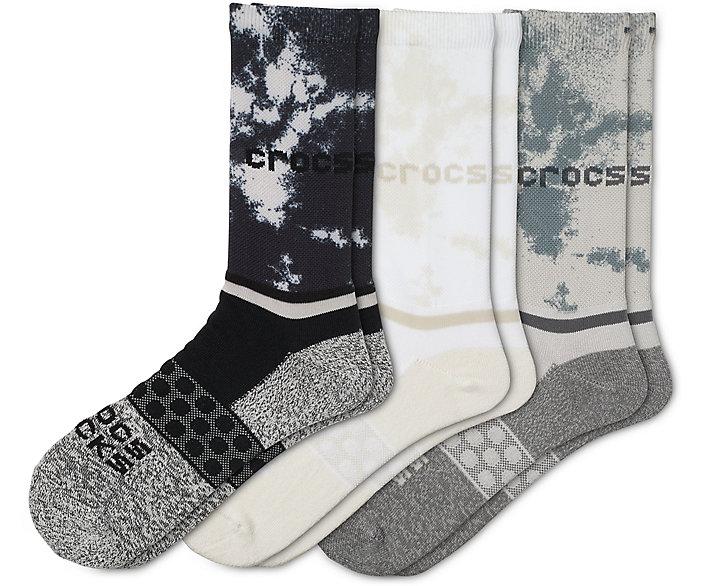 Crocs Socks Adult Crew Seasonal 3-Pack
