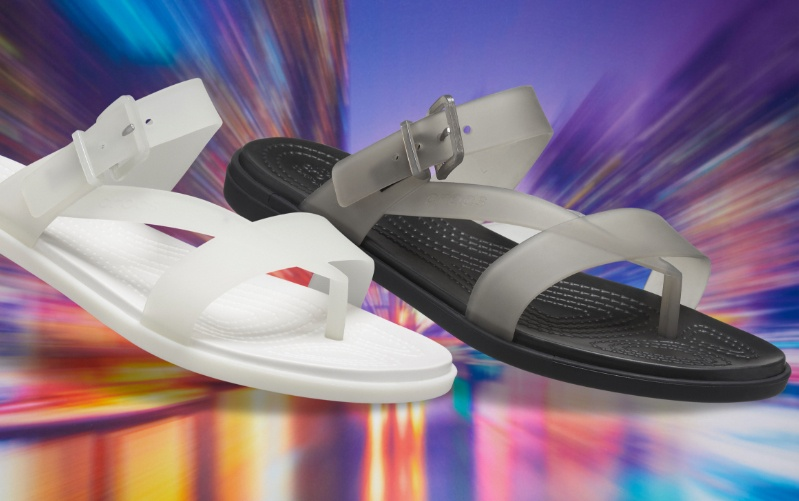 Translucent Tulum Sandals